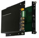 FC1-4x000-xxST-1 & FC1-4x000-xxRT-1 10-bit Digital 4 Video 1 to 2 Bi-Directional Data Standalone & Rack Mount Converters