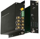 FC1-8x000-xxST-1 & FC1-8x000-xxRT-1 10-bit Digital 8 Video 1 or 2 Bi-Directional Data Standalone & Rack Mount Converters
