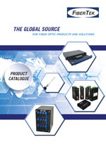 Cover page of FiberTek Product Catalogue