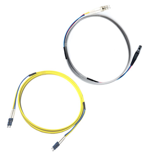 Ruggedized Patch Cords with singlemode and multimode fibers