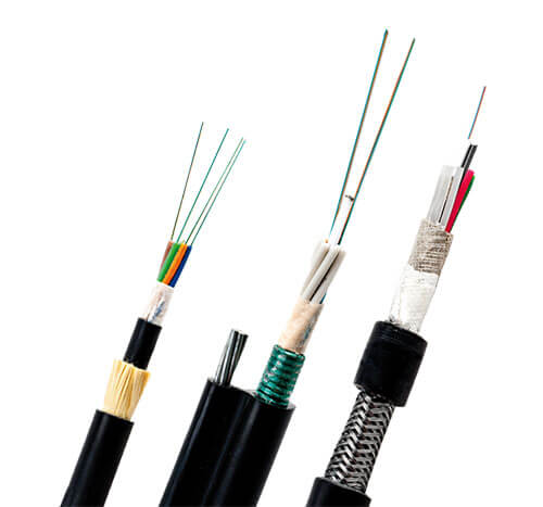 Picture of cables comprise of fibers