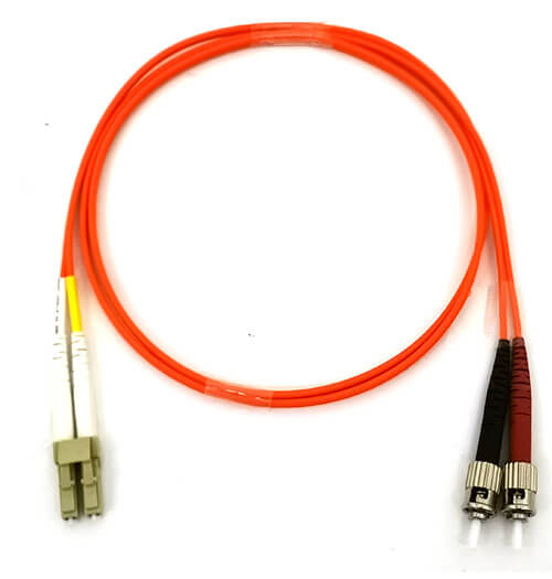 Fiber Optic Patch cord with LC and ST connectors