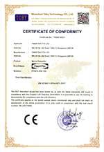 FCNCS-1EN-1ES CE LVD Certificate of Conformity