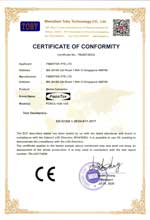 FCNCS-1GN-1GS CE Certificate of Conformity under directive LVD 2014/35/EU