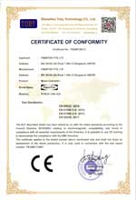 FCNCS-1GN-1GS CE Certificate of Conformity under EMC Directive