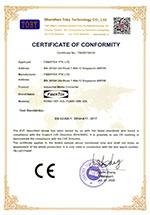 CE certificate under LVD directive for FCNID-1EP & FCNID-1EN