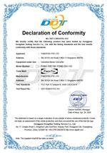 FCC Declaration for FCNID-1GP-1GS & FCNID-1GN-1GS