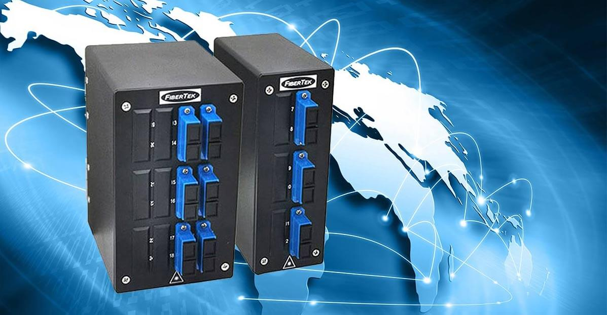 DPPY BK Series DIN Rail Patch Panels