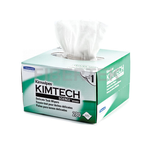A box of Kimwipes with side view