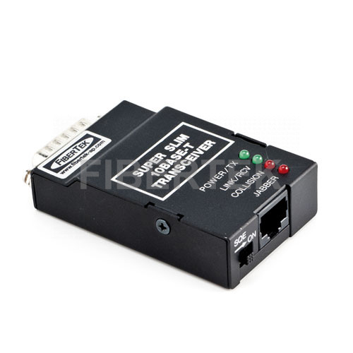 Ethernet Super Slim 10Base 5/T Transceiver FMF-627 Series