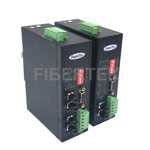 Industrial Serial Fiber Converters 1 and 2 Fiber Transceivers