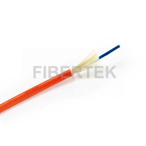 Simplex Patch Cable with orange jacket