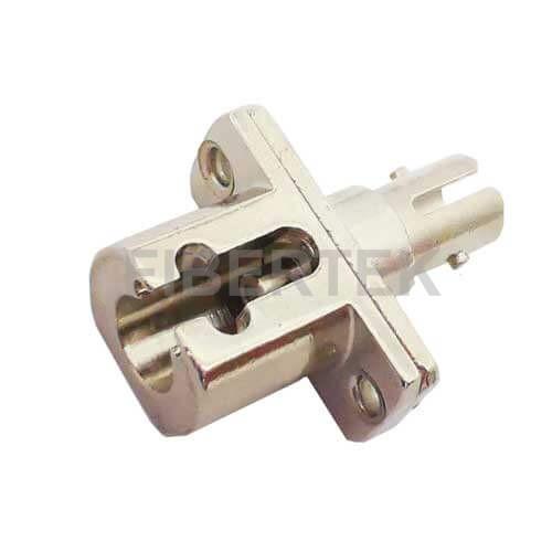 LC ST Hybrid Fiber Optic Adapter